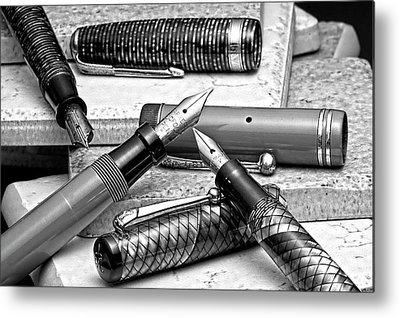 Pen Metal Prints
