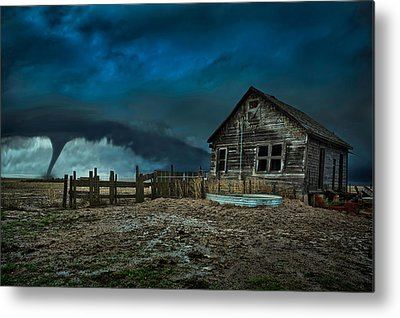 Thunderstorm Metal Prints