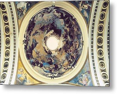 Basilica With Dome Metal Prints