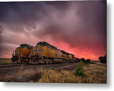 Caboose Photographs Metal Prints
