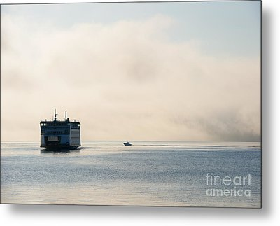 Whidbey Island Ferry Metal Prints