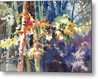 Maple Season Paintings Metal Prints