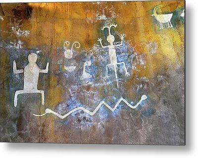 Petroglyph Metal Prints