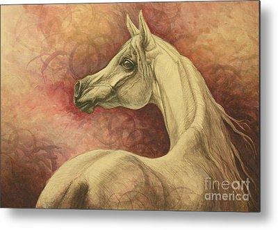 Arabian Horse Metal Prints