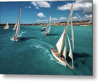 Yacht Metal Prints