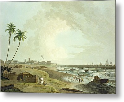 East India Company Metal Prints