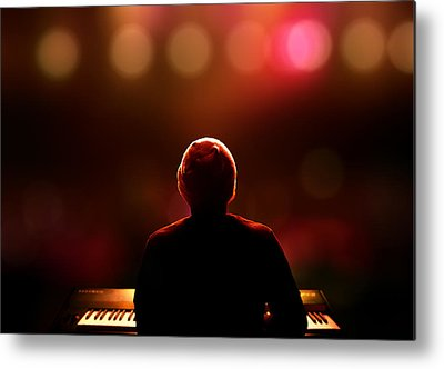 Piano Keyboard Metal Prints