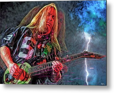 Jeff Hanneman Metal Prints