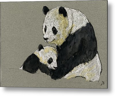 Panda Metal Prints