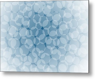 Transparency Geometric Metal Prints