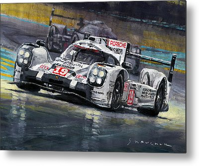 Le Mans 24 Metal Prints