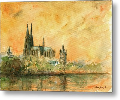 Cologne Metal Prints