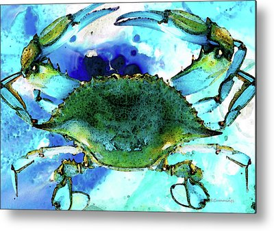 Crab Metal Prints