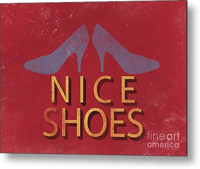Shoe Metal Prints