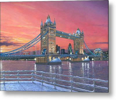 Tower Of London Metal Prints
