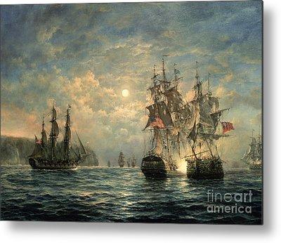 Warfare Paintings Metal Prints