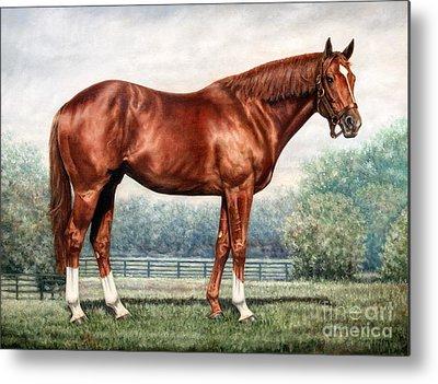 Horse Racing Metal Prints