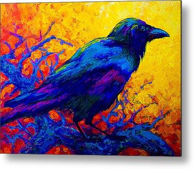 Ravens Metal Prints