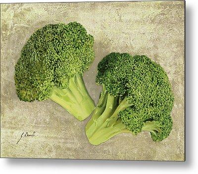 Broccoli Metal Prints
