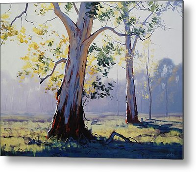 Gum Trees Metal Prints