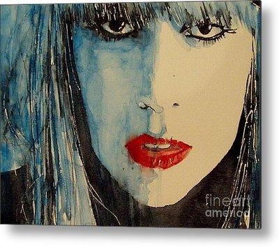 Lady Gaga Metal Prints