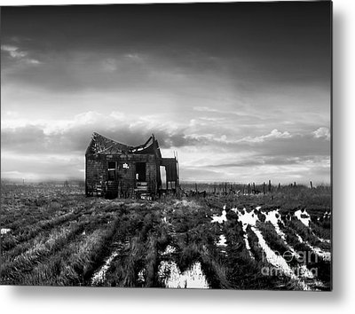 Old And New Metal Prints