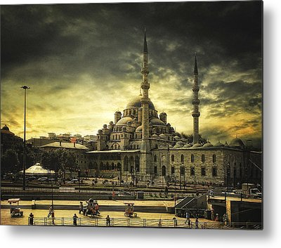 Istanbul Metal Prints
