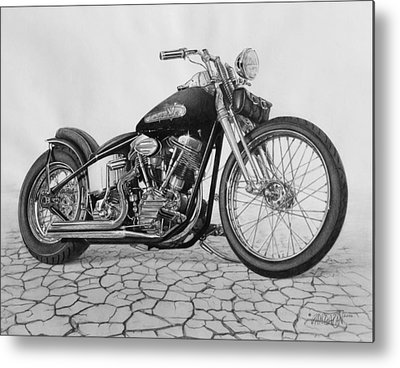 Motorcycle Metal Prints