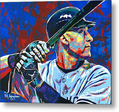 Major League Baseball Paintings Metal Prints