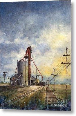 Grain Metal Prints
