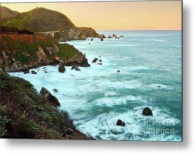 Central California Coast Metal Prints