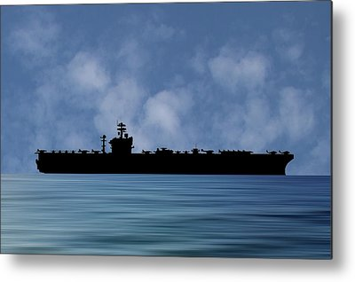 Uss Abraham Lincoln Metal Prints