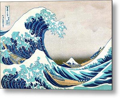 Tsunami Metal Prints
