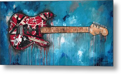 Van Halen Metal Prints