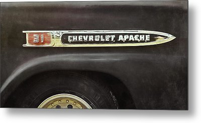 Chevy Pickup Metal Prints