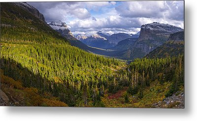 Glacier National Park Metal Prints