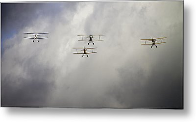 Formation Flying Metal Prints