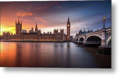 Westminster Palace Metal Prints