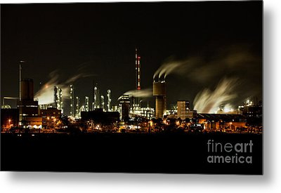 Pollution Metal Prints