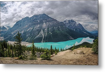 Peyto Lake Metal Prints