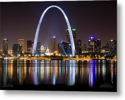 St. Louis Arch Metal Prints