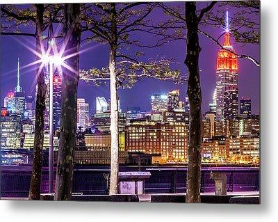 New York New York Com Metal Prints