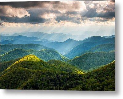 Blue Ridge Mountains Metal Prints