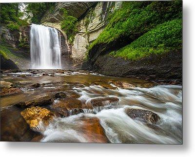 Blue Ridge Parkway Waterfalls Metal Prints