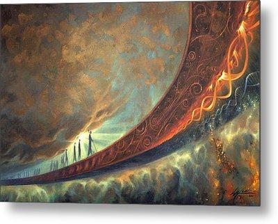 The Universe Paintings Metal Prints