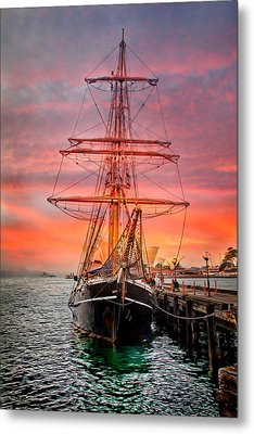 Tall Ships Metal Prints