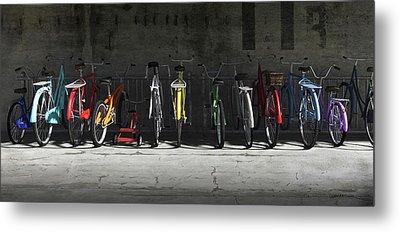 Bike Metal Prints