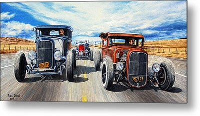 Custom Ford Metal Prints
