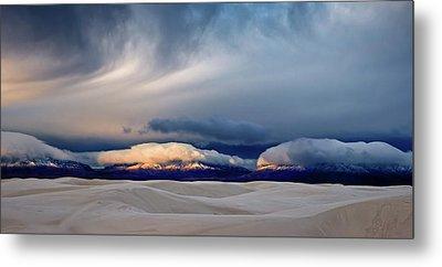 White Sands New Mexico Metal Prints