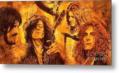 Jimmy Page Metal Prints